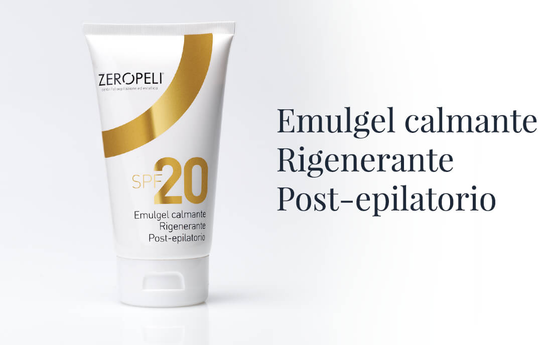 Emulgel Calmante Rigenerante Post-epilatorio ZeroPeli