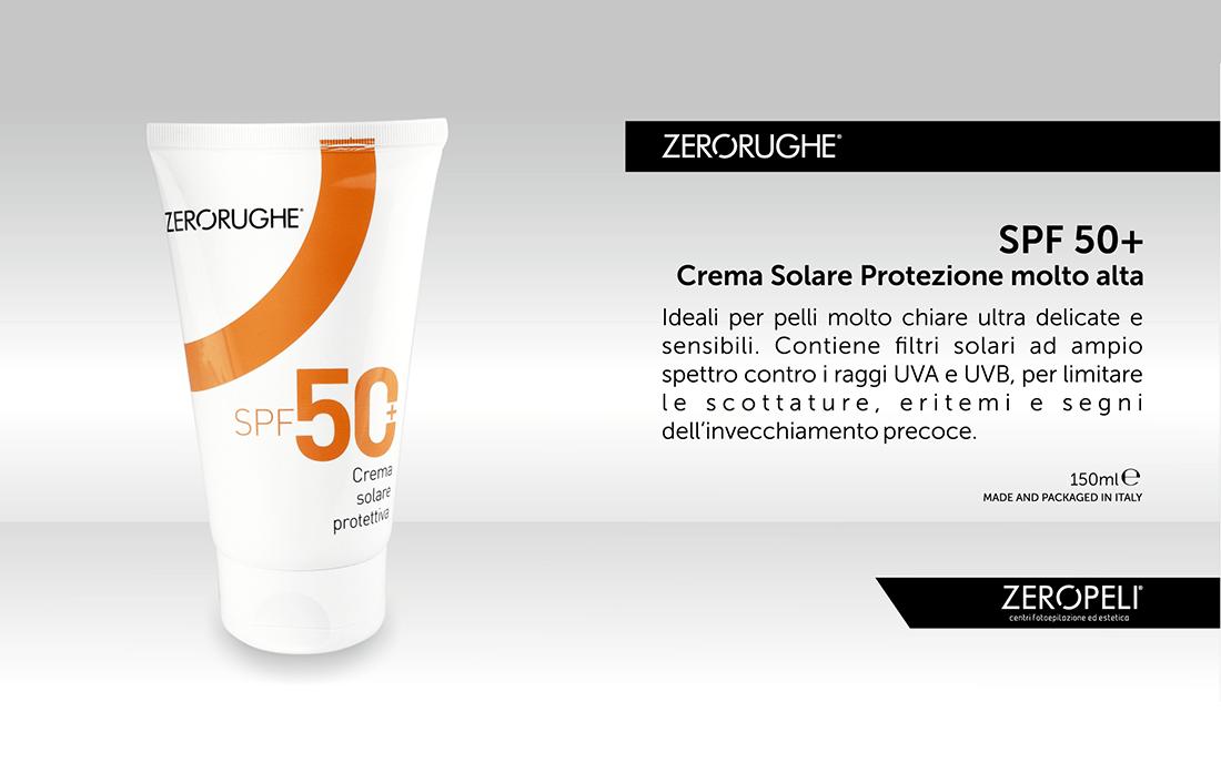 Crema Solare Protettiva SPF 50+